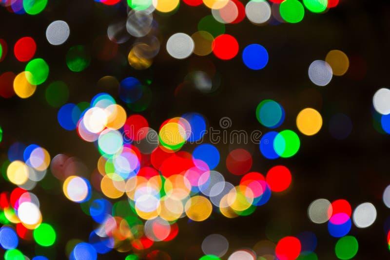 Абстрактная светлая предпосылка нерезкости торжества стоковое фото