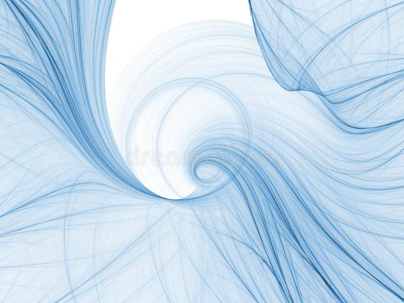 абстрактная свирль иллюстрация штока