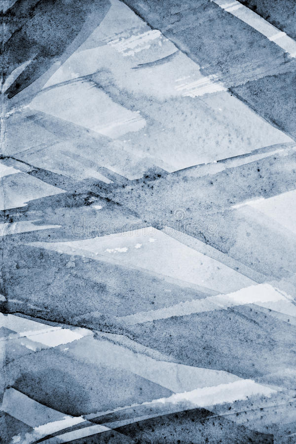 Абстрактная серая акварель на бумажной текстуре как предпосылка стоковая фотография rf