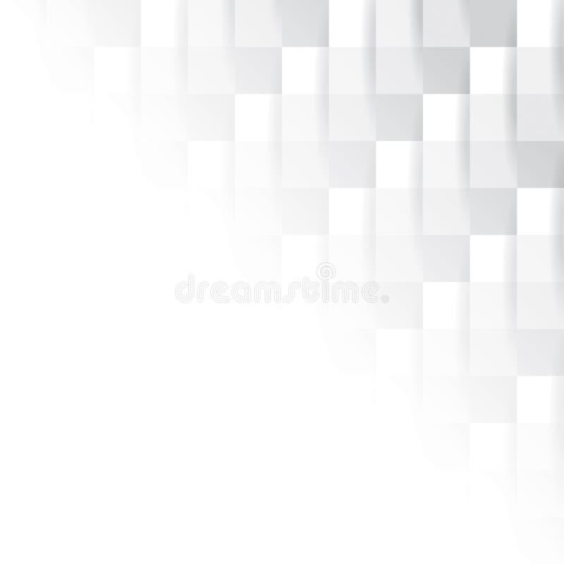 Абстрактная серая и белая безшовная текстура иллюстрация вектора