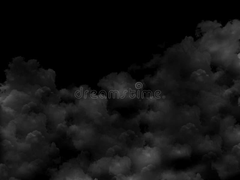 Абстрактная серая предпосылка дыма стоковое изображение rf