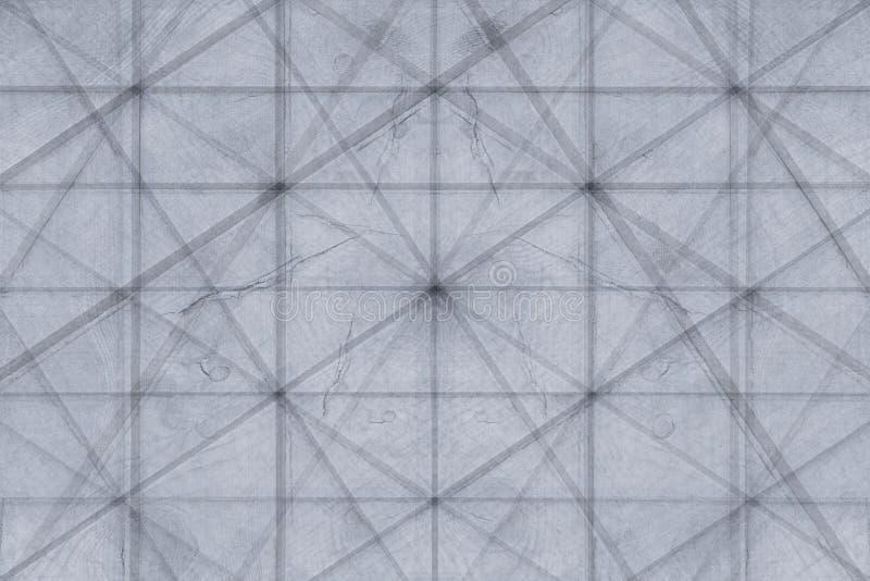 Абстрактная серая предпосылка деревянных планок шотландка предпосылки Абстрактная minimalistic картина lozenges стоковые фото
