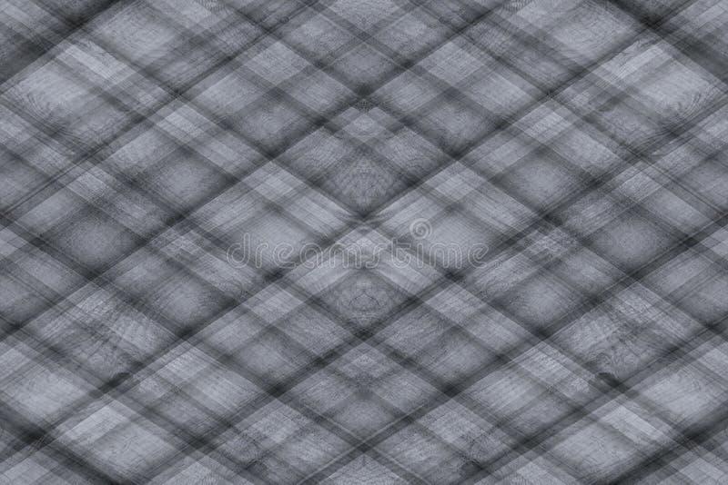 Абстрактная серая предпосылка деревянных планок шотландка предпосылки Абстрактная minimalistic картина lozenges стоковое изображение