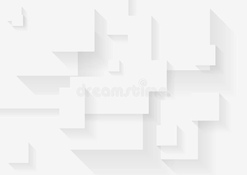Абстрактная серая предпосылка техника иллюстрация вектора