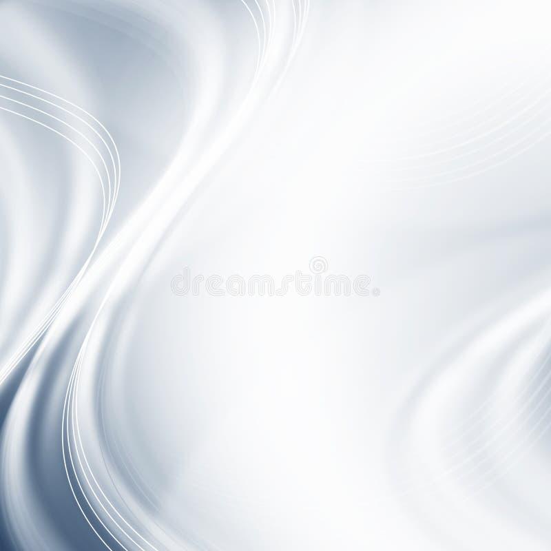 Абстрактная серебряная предпосылка с пересекая линиями, обои, иллюстрация вектора