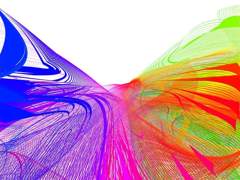 абстрактная сеть иллюстрация штока