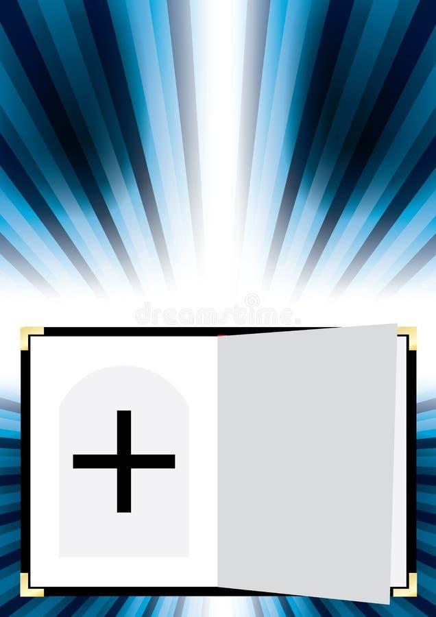 абстрактная сила бога благословением бесплатная иллюстрация