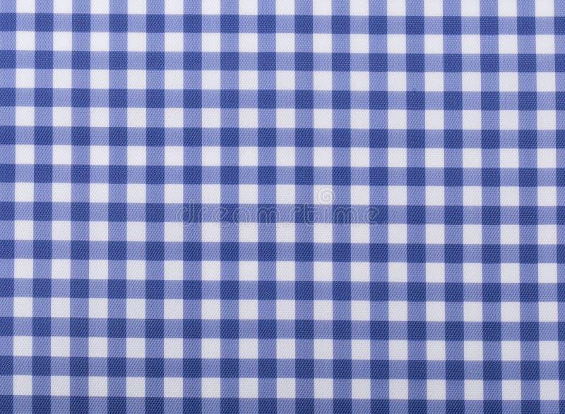 Абстрактная синь квадрата текстуры ткани картины чертежа руки стоковая фотография