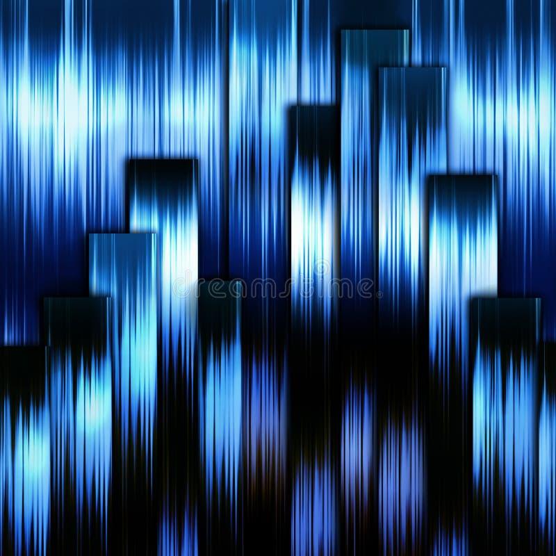 абстрактная синь предпосылки striped бесплатная иллюстрация