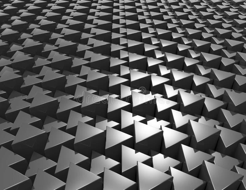 Абстрактная современная предпосылка мозаики иллюстрация штока