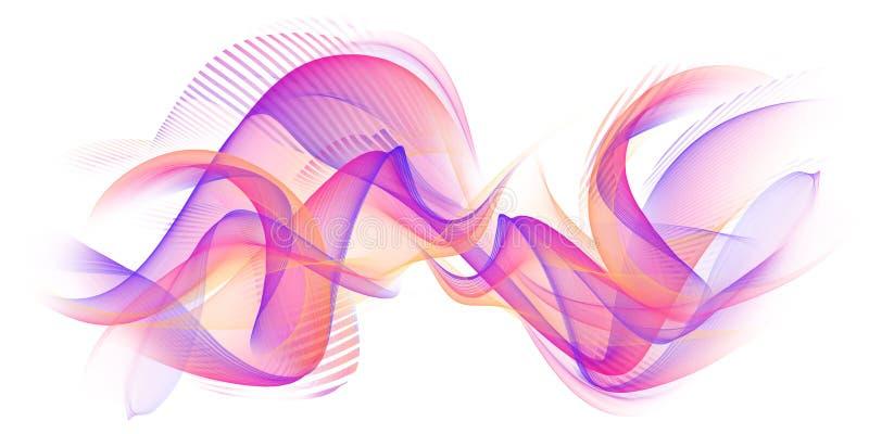 Абстрактная современная предпосылка пламени иллюстрация вектора