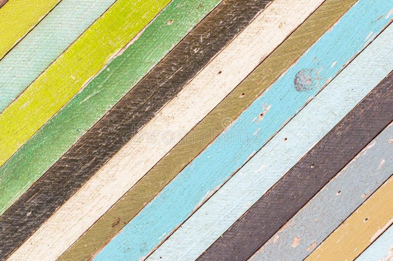 Абстрактная старая деревянная предпосылка текстуры красочная стоковое фото rf
