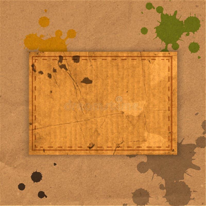 Download Абстрактная старая Grungy бумажная предпосылка Иллюстрация штока - иллюстрации насчитывающей рамка, творческо: 41663479