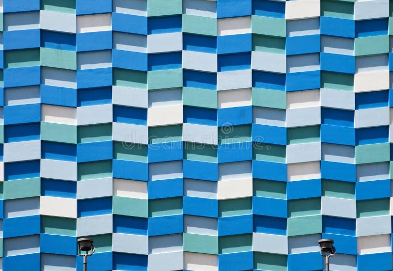 абстрактная стена фасада стоковые фотографии rf