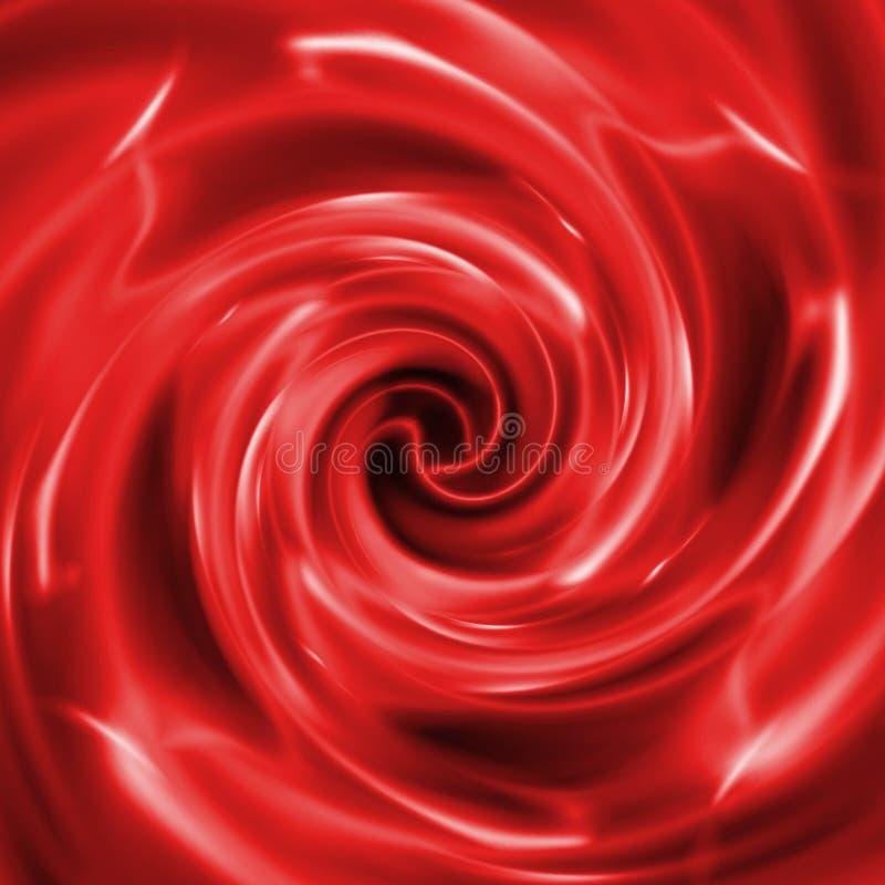 Абстрактная творческая красная предпосылка в стиле мультимедиа иллюстрация штока