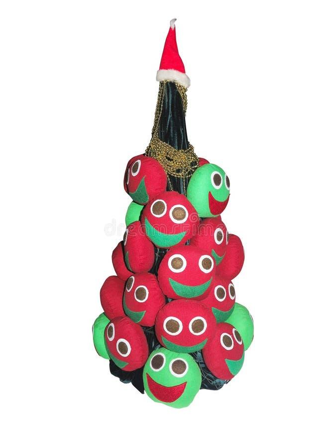 Абстрактная творческая рождественская елка изолированная над белой предпосылкой бесплатная иллюстрация