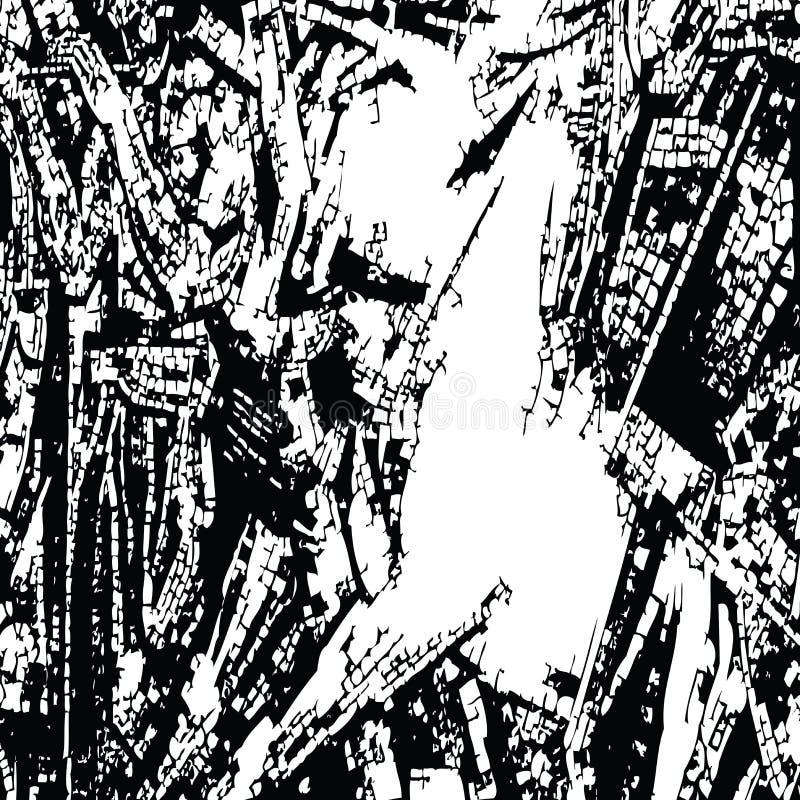 абстрактная текстура контраста иллюстрация штока