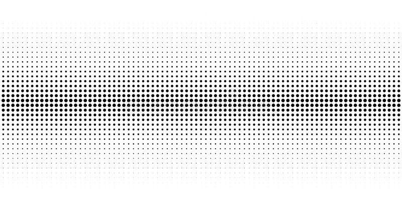 Абстрактная текстура полутонового изображения с точками иллюстрация штока