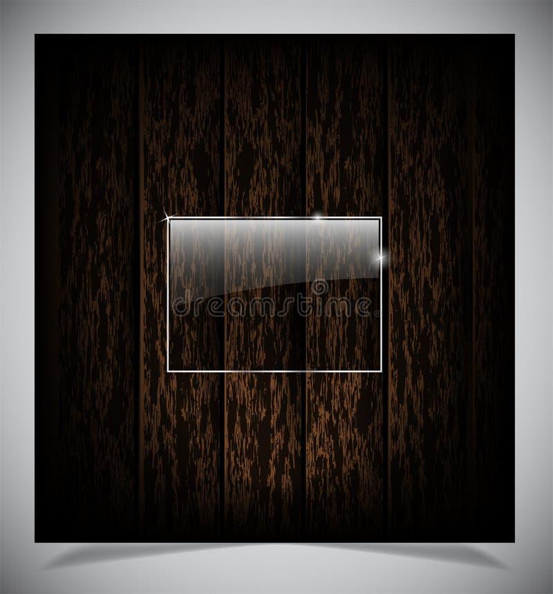 Абстрактная темная деревянная предпосылка стоковое изображение rf