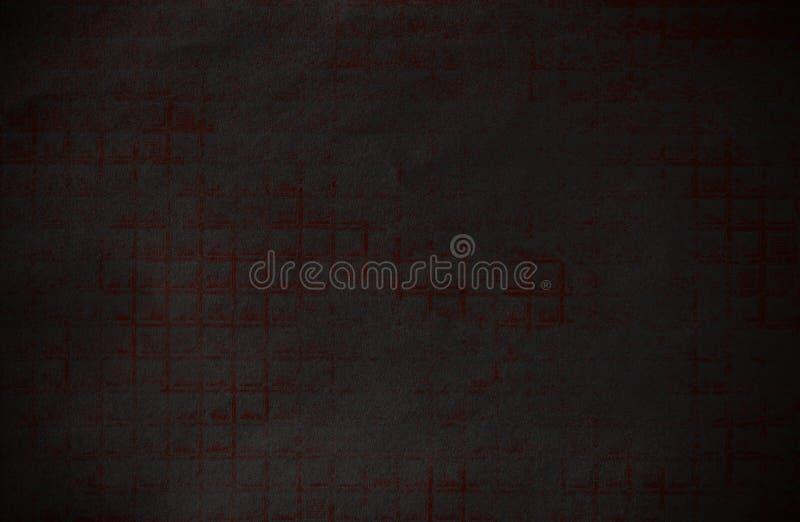 Абстрактная темная и красная бумага технической предпосылки grunge стоковое изображение rf