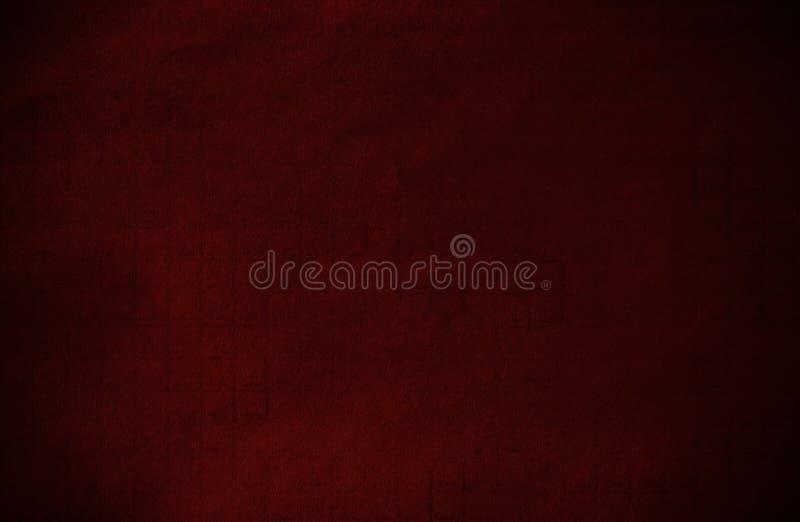 Абстрактная темнота - бумага красного grunge техническая стоковое фото