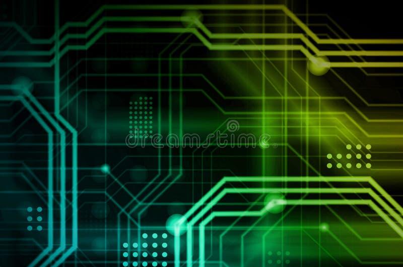 Абстрактная технологическая предпосылка состоя из множества o бесплатная иллюстрация