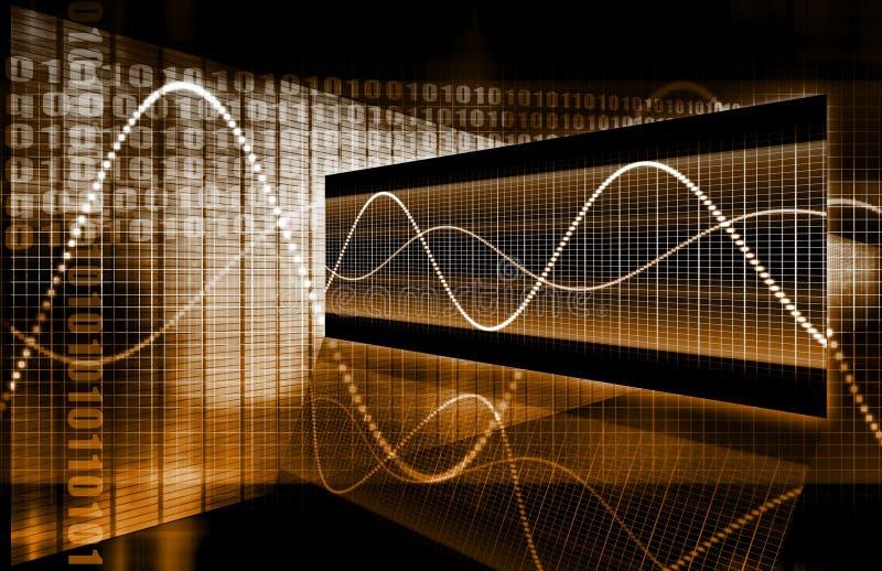 абстрактная технология дела иллюстрация вектора