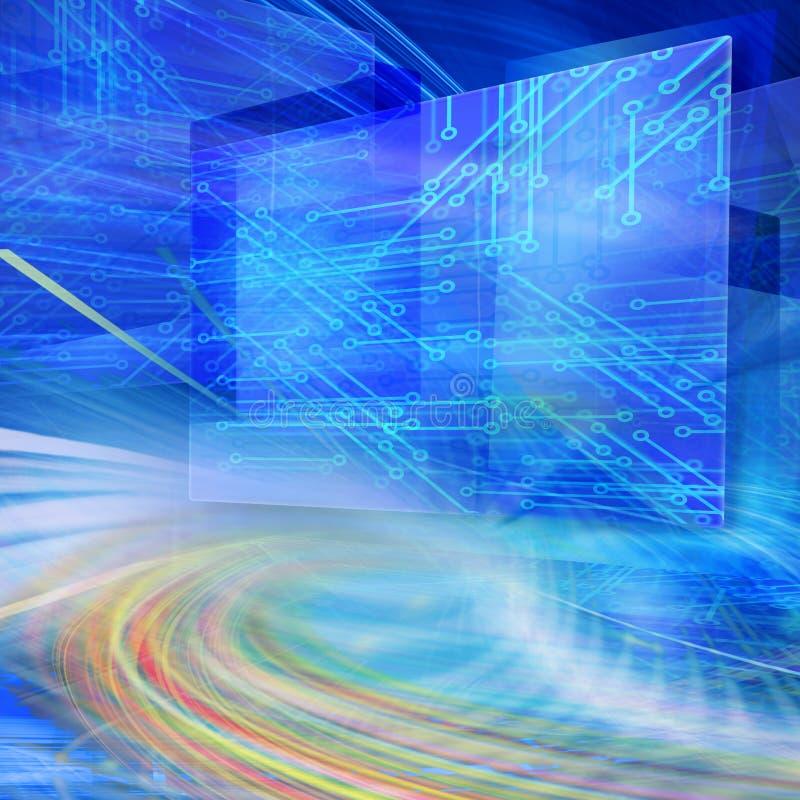 абстрактная технология иллюстрации бесплатная иллюстрация