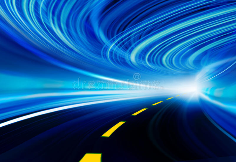 абстрактная технология скорости иллюстрации предпосылки бесплатная иллюстрация