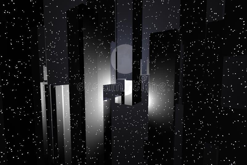 абстрактная технология иллюстрация вектора