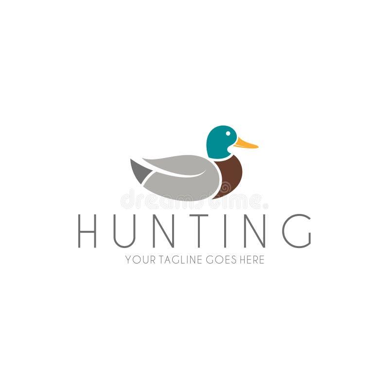 Абстрактная утка логос бесплатная иллюстрация