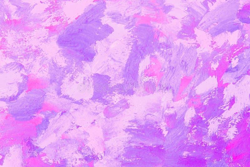 Абстрактная фиолетовая предпосылка картины brushstroke иллюстрация вектора