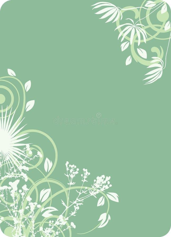 абстрактная флористическая рамка стоковое фото rf