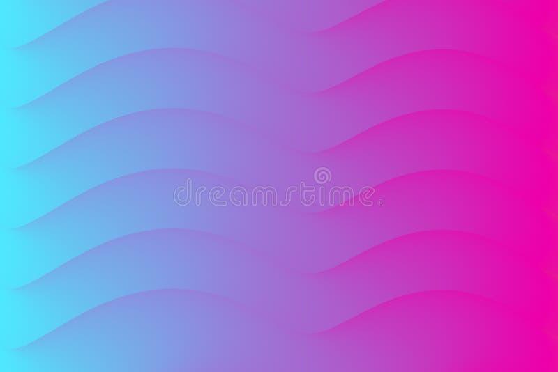 Абстрактная форма цвета Творческий современный шаблон крышки также вектор иллюстрации притяжки corel бесплатная иллюстрация