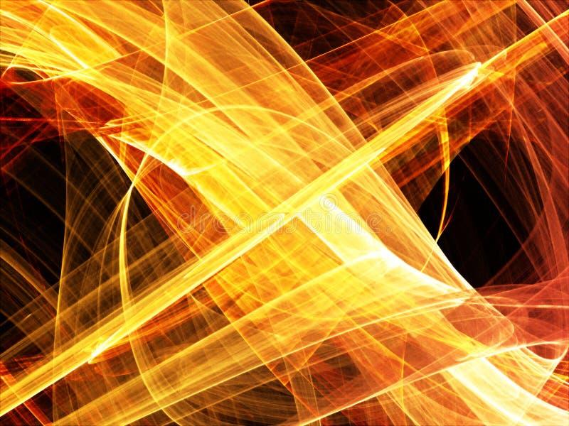 абстрактная фракталь предпосылки иллюстрация вектора