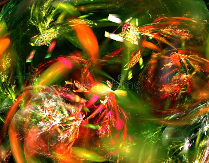 абстрактная фракталь стоковые изображения rf