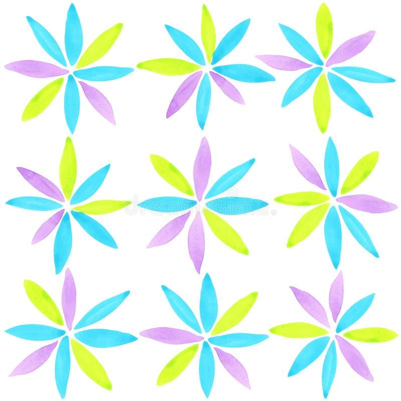абстрактная художническая предпосылка Современная геометрическая абстрактная предпосылка иллюстрация вектора