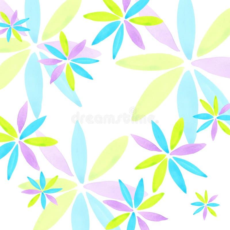 абстрактная художническая предпосылка Современная геометрическая абстрактная предпосылка бесплатная иллюстрация