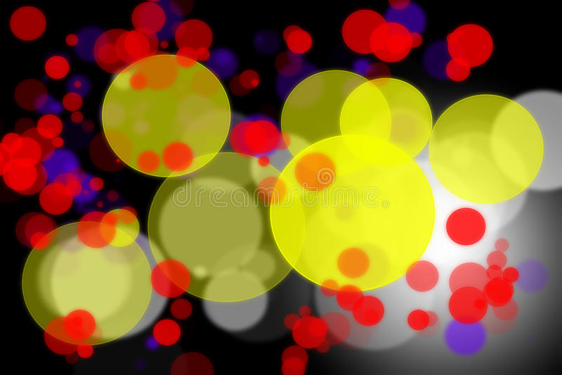 Абстрактная цветастая предпосылка bokeh стоковое изображение rf
