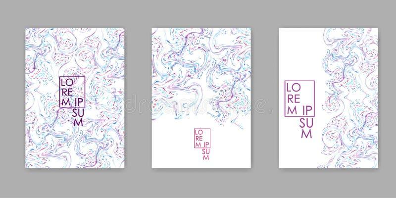 абстрактная цветастая текстура Предпосылка пастельных цветов бесплатная иллюстрация