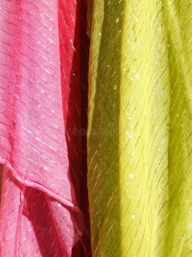 абстрактная цветастая текстура тканиь стоковые изображения rf