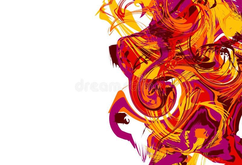 абстрактная цветастая текстура яркая предпосылка цветов бесплатная иллюстрация