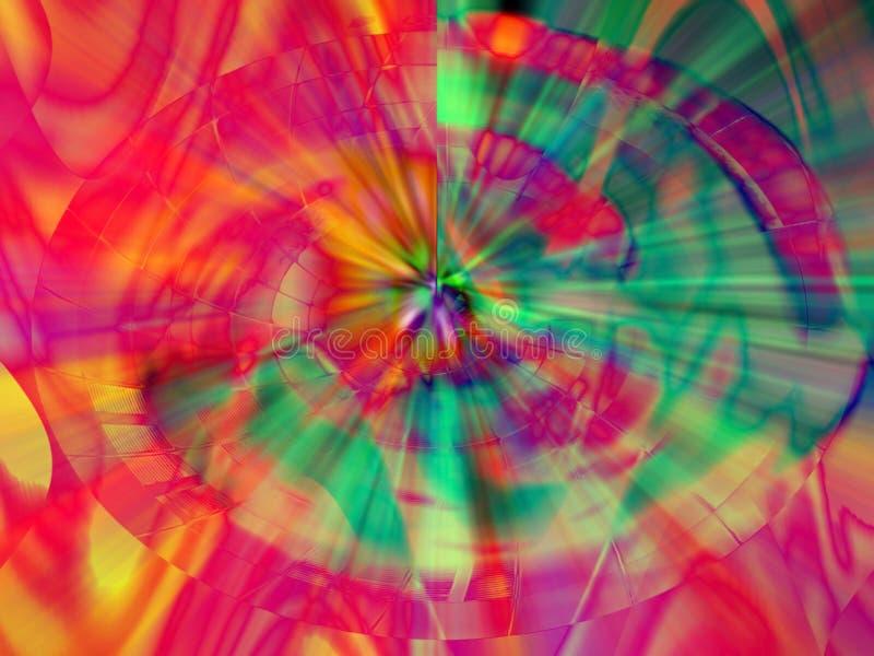 абстрактная цифровая картина иллюстрация штока
