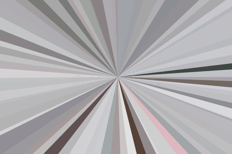 Абстрактная черная, белый, контраст, излучает конфигурацию пучка излучения нашивок предпосылки Тенденция стильной иллюстрации сов стоковое изображение rf