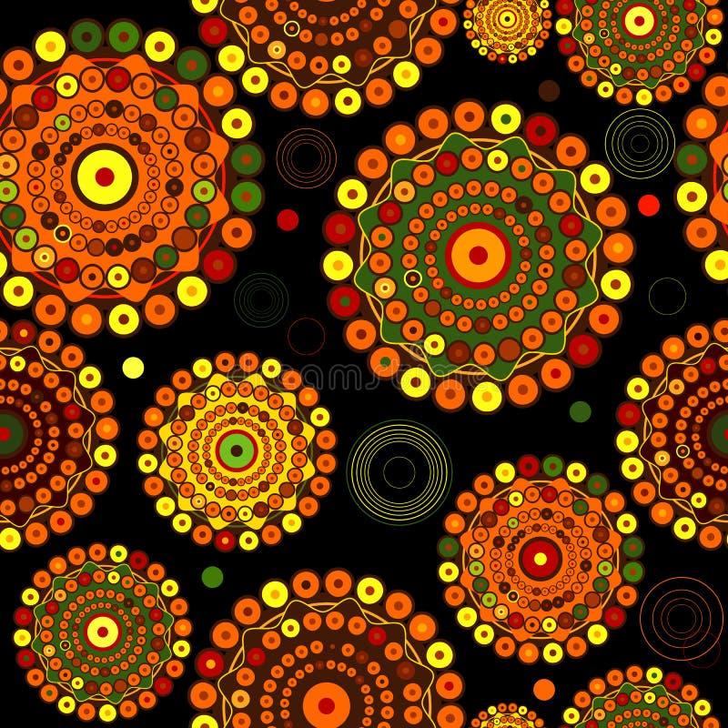 абстрактная черная картина безшовная бесплатная иллюстрация