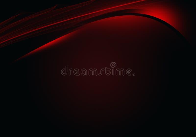 Абстрактная черная предпосылка с динамическими линиями стоковые фотографии rf