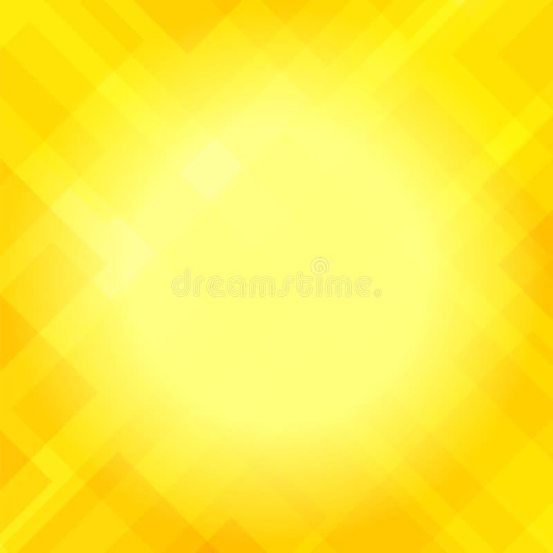 Абстрактная элегантная желтая предпосылка бесплатная иллюстрация