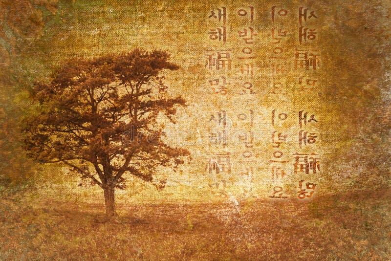абстрактная япония помечает буквами старый сбор винограда вала бесплатная иллюстрация