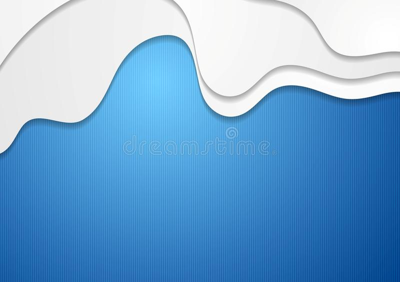 Download Абстрактная яркая волнистая предпосылка Иллюстрация вектора - иллюстрации насчитывающей рамка, яркое: 40577219