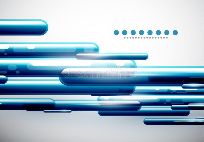 Абстрактная high-technology абстрактная предпосылка иллюстрация вектора